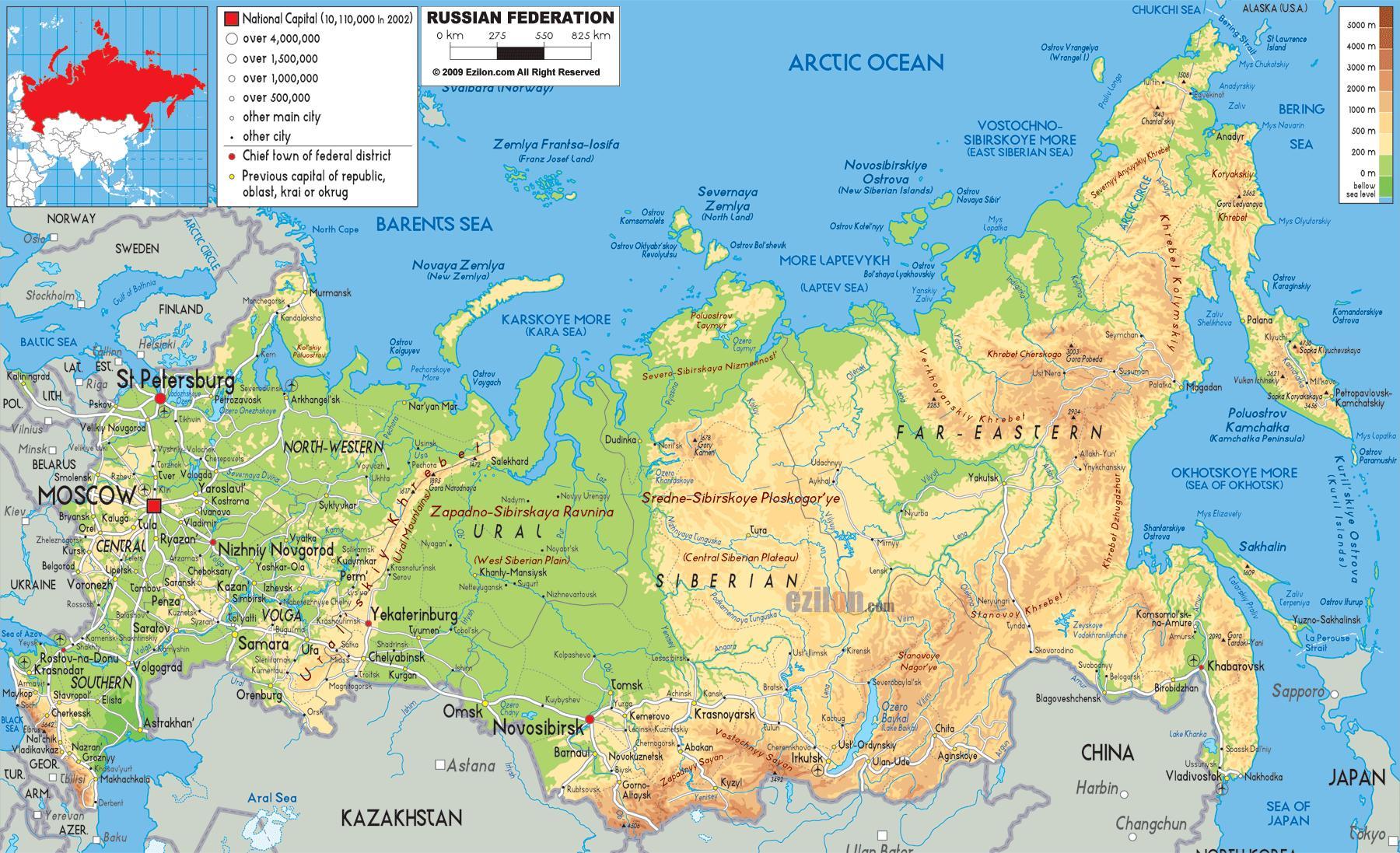 karta rusije Moskva Rusija karta Rusije kartica u Moskvi (Rusija) karta rusije