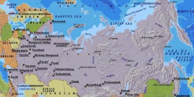 Karta Moskvi Karte Za Moskvu Rusija